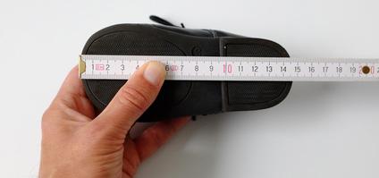 Schuhgröße bestimmen