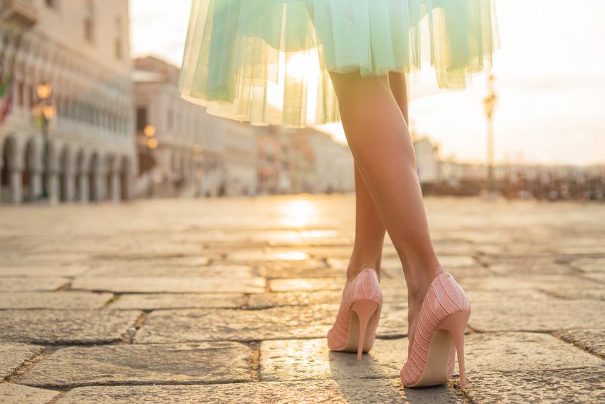 Laufen in High Heels – so machen Sie eine gute Figur!